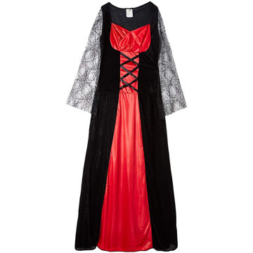 Picture of Women's Gothic Dress Red, BW0027