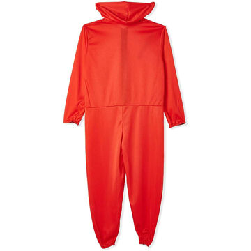 Picture of Unisex Plain Jumpsuit Costume, Red - BXF-6916