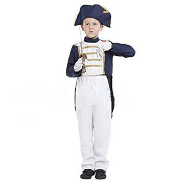 Picture of Boy French Napoleonic Role-Playing Apparel Four-Piece Suit
