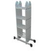 Takako Multi Purpose Aluminium Silver Ladder - 4.7M Online Shopping