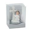 JorJor Cross Shaped Miniature Girl With Book Figurine, White Online Shopping