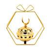 JorJor Star Shaped Design Candle Holder, Gold Online Shopping