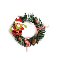 Picture of Christmas Garland Décor for Door, Green, 13 g