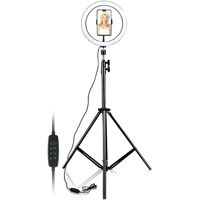 Picture of 10 Inch Selfie Ring Light Tripod Stand