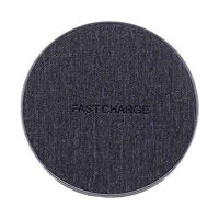 Picture of Jean Fabric Qi Wireless Charger Fast Charging Pad