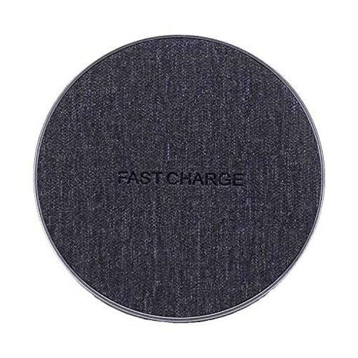 Jean Fabric Qi Wireless Charger Fast Charging Pad Online Shopping