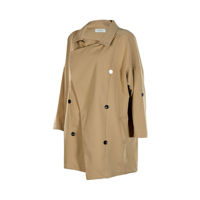Picture of Mega Women's Beige Polyester Long Jacket - Free Size