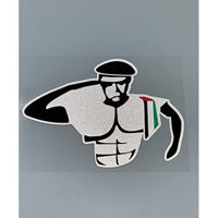 Picture of UAE Soldier Reflective Waterproof Sticker For Cars