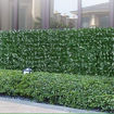 Picture of Ling Wei Artificial Ivy Leaf Screening Hedge Fence, Green, 3 m