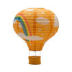 Da Zhong Unique Parasuit Shaped Paper Lantern, Orange, 30 cm Online Shopping