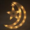 Da Zhong Hanging Star LED Decoration Lights, Warm White, 12 inch Online Shopping