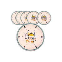 Picture of Round Shallow Plate Set, White