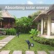 2 in 1 Waterproof Solar Powered Adjustable Spotlight Online Shopping