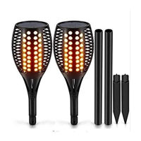 Picture of LED Solar Light Dancing Flame Flickering Outdoor Torch Lights