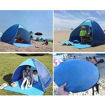 Double Automatic Pop Up Outdoor Beach Tent with Carrying Bag, Blue Online Shopping