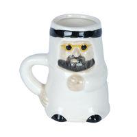 Picture of 3D Arab Male Shaped Ceramic Mug, White