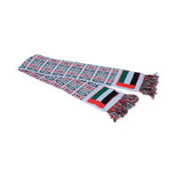 Picture of UAE Flag Scarf, White