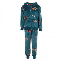 Picture of Joanna Car Themed Hoodie Boy's Pajama Set