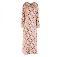 Picture of Joanna Polka Dots Soft Velour Women's Pajama Dress