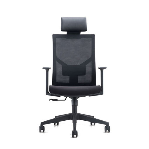 Neo Front Adjustable Office Chair with Lumbar Support, Black, 50x59x112cm Online Shopping