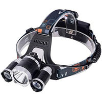 Picture of OEM 3 LED 5000 Lumens Camping Headlamp