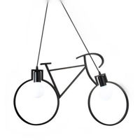 Picture of Dining Hall LED Bicyle Shape Pendant Lamp