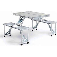 Picture of Aluminium Portable Folding Outdoor Camping Table Set