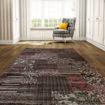 Mega Carpets Modern Matrix 1 Turkish Carpet - Pink Online Shopping