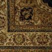 Mega Carpets Modern Rose 1 Turkish Carpet - 150 x 230cm, Navy Blue Online Shopping