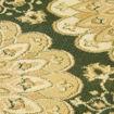 Mega Carpets Modern Scala 1 Turkish Carpet, Green - 125 x 180cm Online Shopping