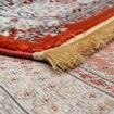 Mega Carpets Modern Gold Silk Turkish Carpet - Orange Online Shopping