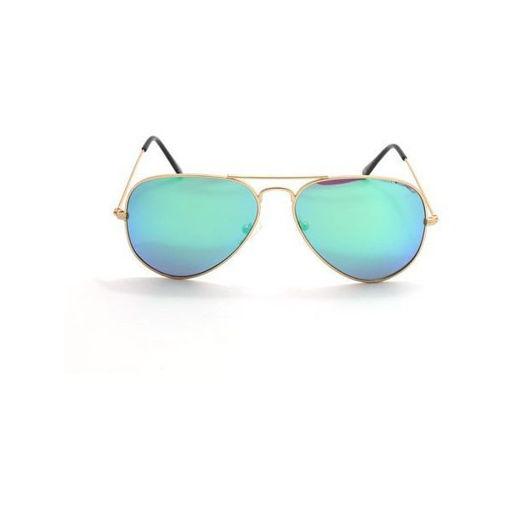 Chic Optic Aviator Sunglasses, Green Online Shopping